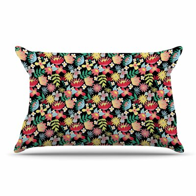 DLKG Design Flower Power Pillow Case