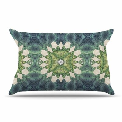 Art Love Passion Forest Leaves Repeat Geometric Pillow Case