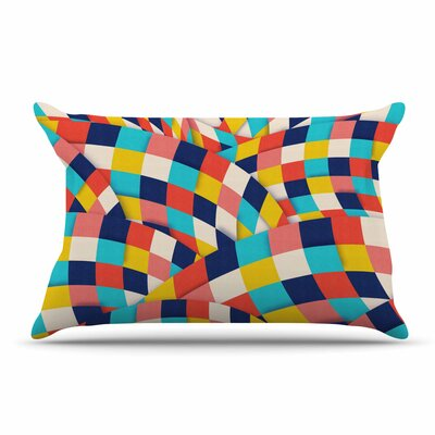Danny Ivan Curved Squares Pillow Case