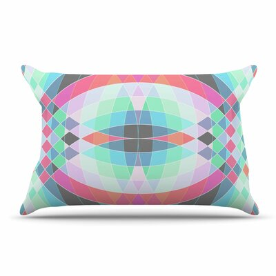 Fimbis Jazar Abstract Geometric Pillow Case
