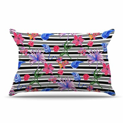 DLKG Design Flower Party Pillow Case