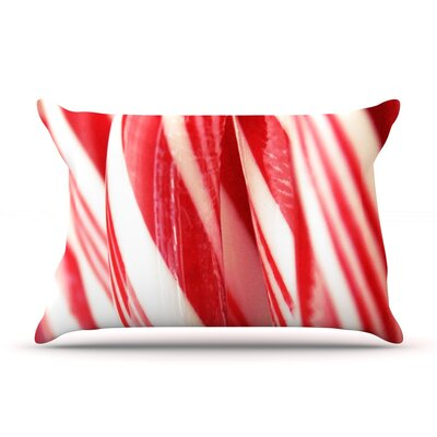 Beth Engel The Painted Forest Candy Cane Pillow Case