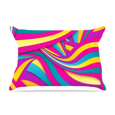 Danny Ivan Swirls Everywhere Pillow Case