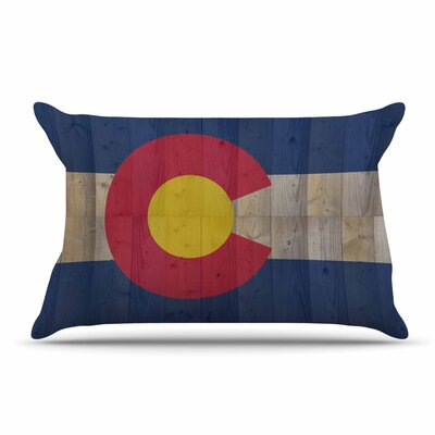 Bruce Stanfield Flag Of Colorado Pillow Case