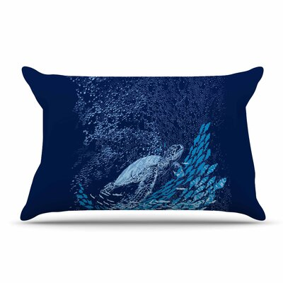 Frederic Levy-Hadida The Turtle Way Pillow Case
