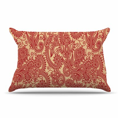 Fotios Pavlopoulos Floral Loop Pillow Case