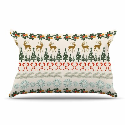 Famenxt Christmas Vibes Holiday Pillow Case