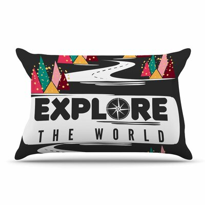 Famenxt Explore The World Pillow Case
