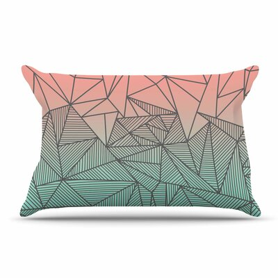 Fimbis Bodhi Rays Geometric Illustration Pillow Case