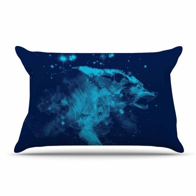 Federic Levy-Hadida Predation Instinct Ii Wolf Pillow Case