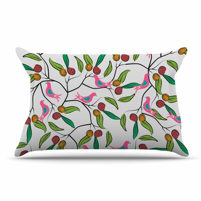 Famenxt Birds World Pillow Case
