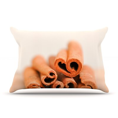 Iris Lehnhardt Cinnamon Pillow Case Color: Brown