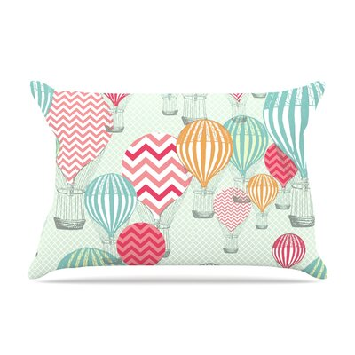 Heidi Jennings Hot Air Baloons Pillow Case