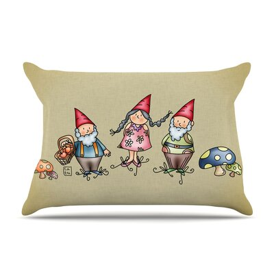 Carina Povarchik 'Gnomes' Pillow Case