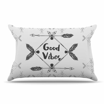 Famenxt Boho Good Vibes Pillow Case