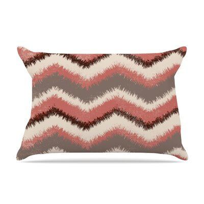 Heidi Jennings Fuzzy Chevron Pillow Case