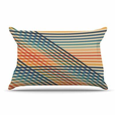 Fimbis Ovrlaptoo Lines Pillow Case