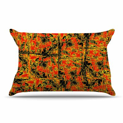 Bruce Stanfield Golden Red Pillow Case