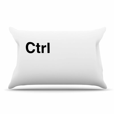 Jackie Rose 'Ctrl' Pillow Case