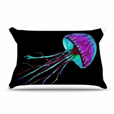 Ivan Joh Night Of Jellyfish Pillow Case