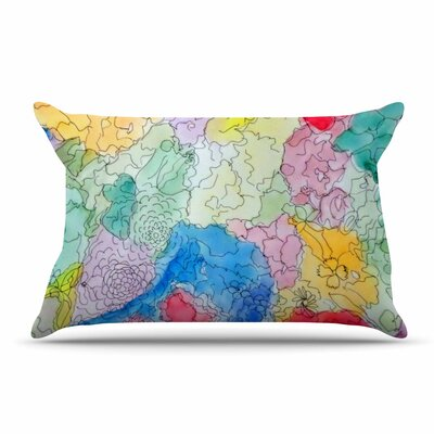 Cathy Rodgers Floral Pathway Pillow Case