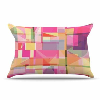 Fimbis Paku Geometric Pillow Case