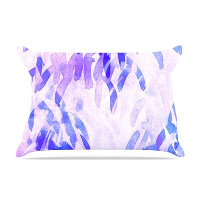 Iris Lehnhardt Abstract Leaves Iii Pillow Case