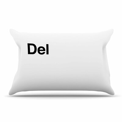 Jackie Rose 'Delete' Pillow Case