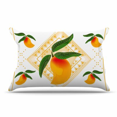 Famenxt Fresh Farm Mangoes Peach Pillow Case