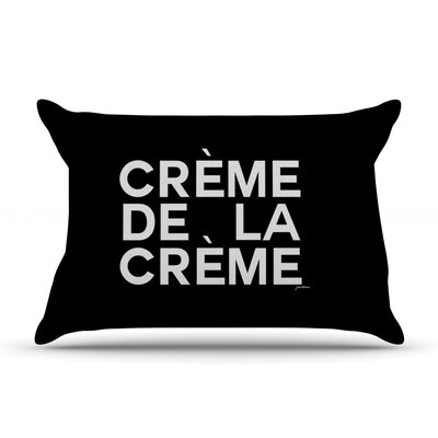 Geordanna Cordero-Fields Creme De La Creme Pillow Case
