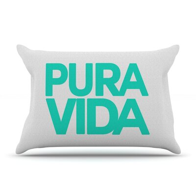 Geordanna Cordero-Fields Pura Vida Pillow Case