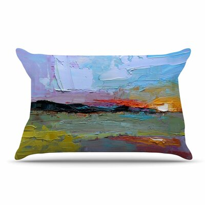 Carol Schiff Hues Painting Pillow Case
