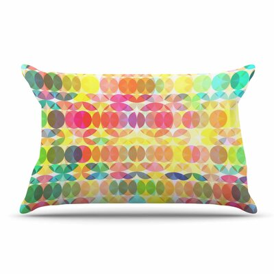 Fimbis Sercuelartoo Geometric Circles Pillow Case