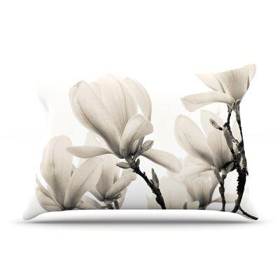 Iris Lehnhardt Magnolia Blossoms Floral Pillow Case