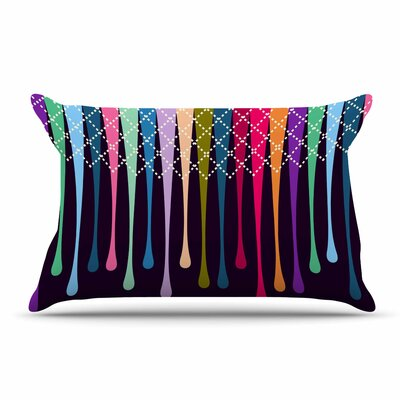 Famenxt Drops Argyle Pillow Case