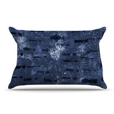 Iris Lehnhardt Tex Mix Jade Abstract Pillow Case Color: Blue