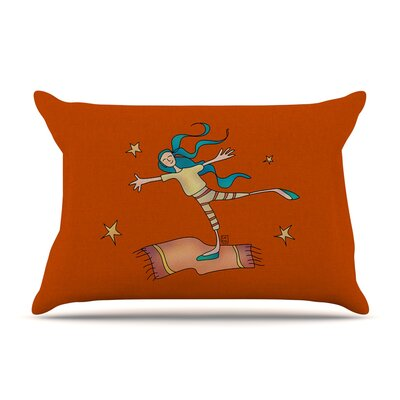 Carina Povarchik 'Being Free' Pillow Case