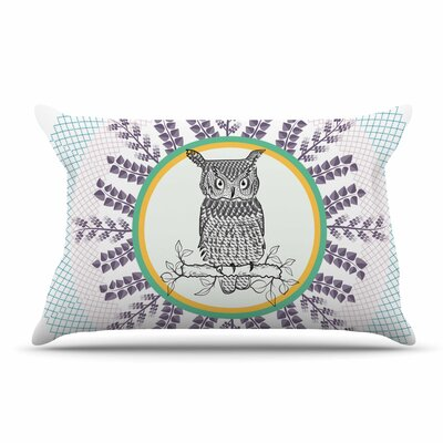 Famenxt Owl Pillow Case