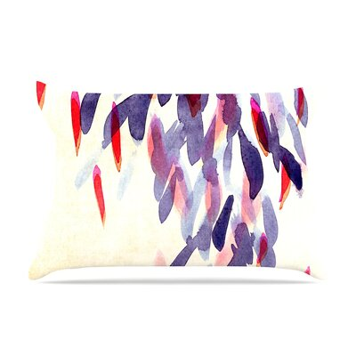 Iris Lehnhardt Abstract Leaves Iv Pillow Case