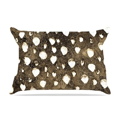 Iris Lehnhardt Dots Grunge Pillow Case