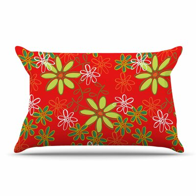 Holly Helgeson Daisy Mae Floral Pillow Case