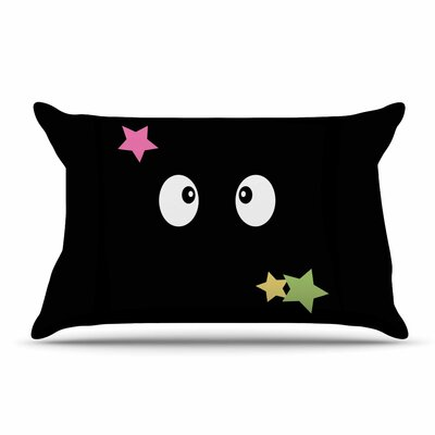 Jackie Rose 'Shoot Germlins' Pillow Case