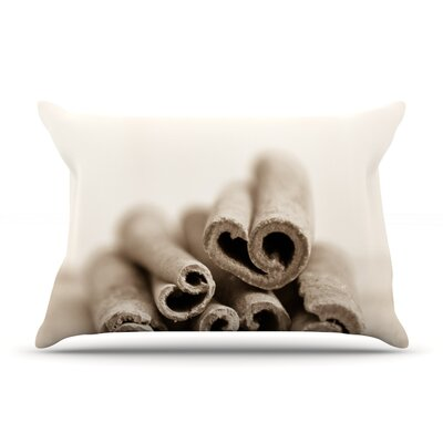 Iris Lehnhardt Cinnamon Pillow Case Color: Gray