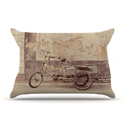 Jillian Audrey The Bicycle Photography Pillow Case
