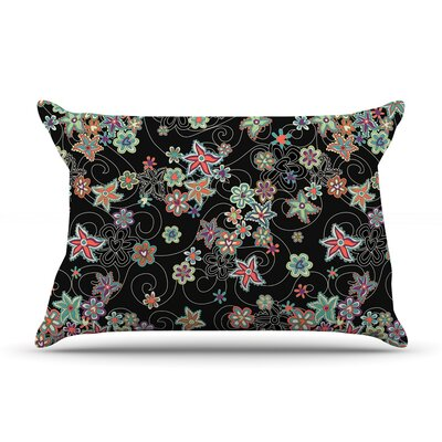 Julia Grifol My Small Flowers Floral Pillow Case