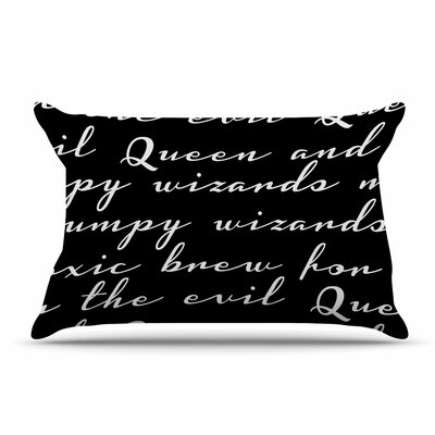 Jackie Rose Grumpy Wizards Typography Pillow Case