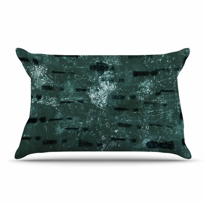 Iris Lehnhardt Tex Mix Jade Abstract Pillow Case Color: Jade