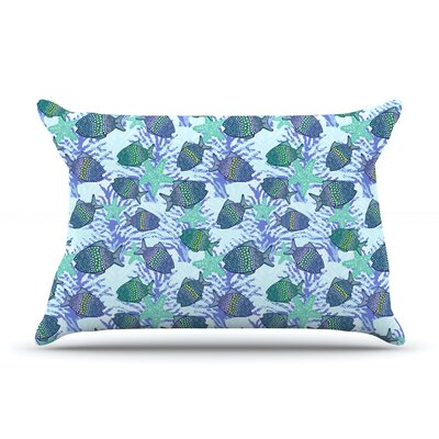 Julia Grifol My Colorful Fishes Pillow Case