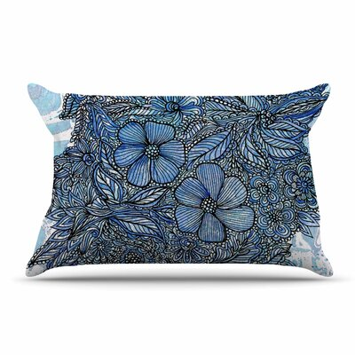 Julia Grifol Flowers In My Garden Pillow Case