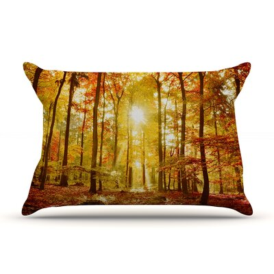 Iris Lehnhardt Sun Flooded Pillow Case